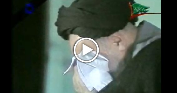 Video- Late Imam Rohollah Mosavi Khomeini Mourns Karbala