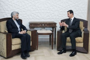 Bashar-al-Assad-Saeed-Jalili