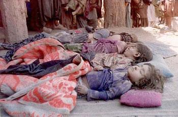 Vrasjet dhe masakrimet e femrave me ligjet islame NATO-killed-Afghan-children