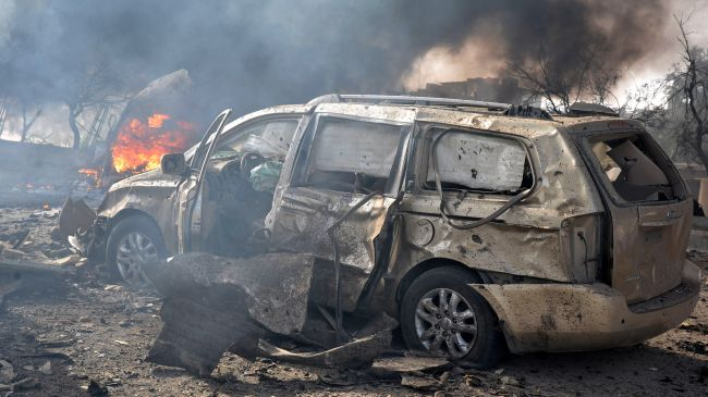 car bomb explosion has hit the city of Dayr al-Zawr in eastern Syria ...