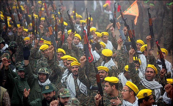 Basij Scout maneuver in Southern Iran for military preparedness