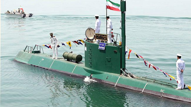 Iran's Navy successfully test-fires advanced torpedoes in drill