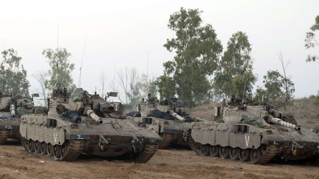 Israeli tanks, bulldozers enter southern Gaza Strip