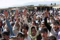 Afghans stage rally to slam US-led raids