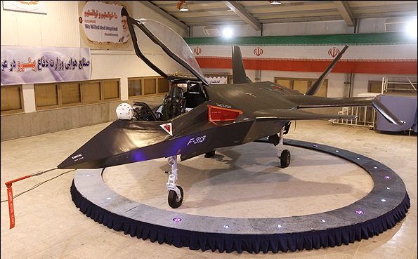 Iranian Qaher 313 fighter jet