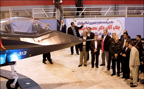 Iranian Qaher 313 fighter jet11