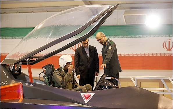Iranian Qaher 313 fighter jet14