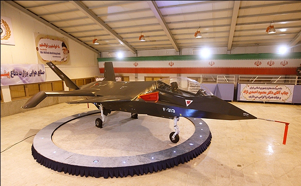 Iranian Qaher 313 fighter jet3