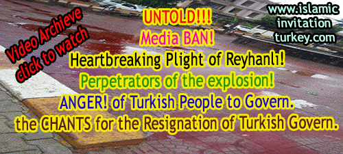 After blasts Reyhanlı Streets turned into bloodbath