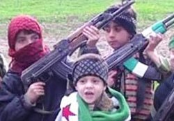Terrorist groups abuse Syrian children