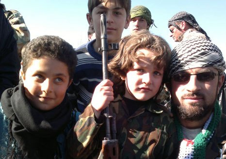 Terrorist groups abuse Syrian children5