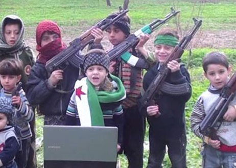 Terrorist groups abuse Syrian children7