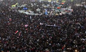Egypt market gains on Morsi anniversary protests