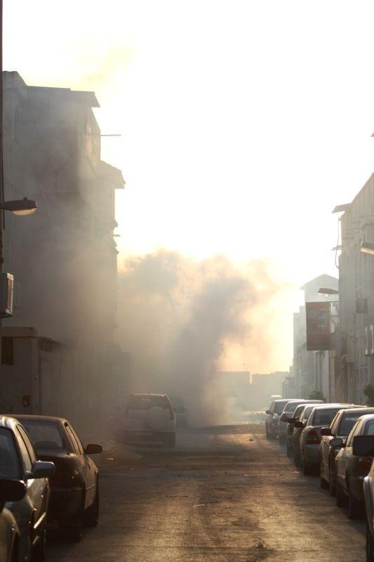 Bahrainis Commemorate Quds Day under Regime's Teargas, Gunshot Bullets