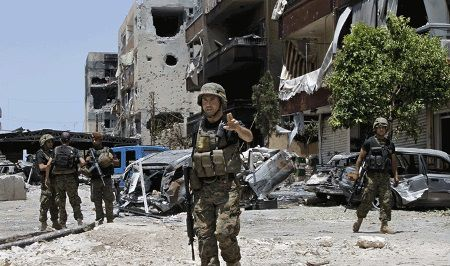 Syrian Army controls part of al-Sbeneh town and operates in  Damascus countryside