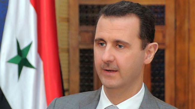 President Assad talks on chemical attacks in Syria