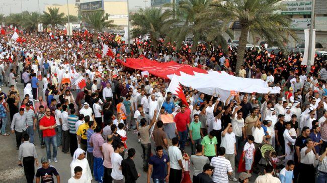 Bahrain court gives life sentence to nine activists