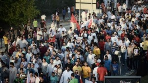 Bahrainis express outrage over crackdown