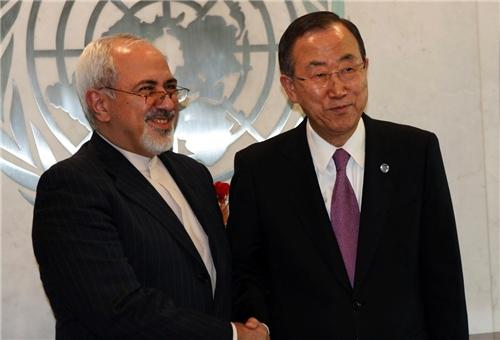 Ban Ki-moon Stresses Iran's Vital Role in Settlement of Syrian Crisis
