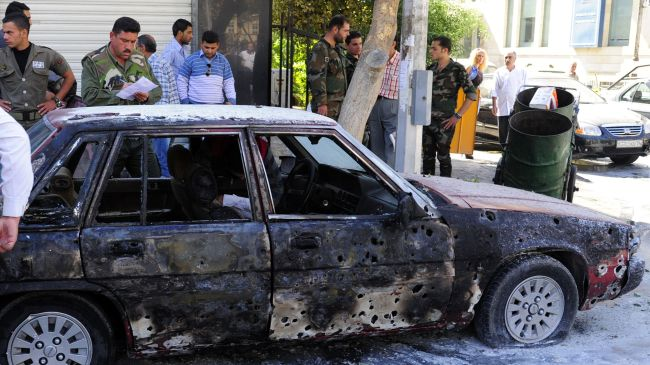 Deadly blast hits Damascus suburb