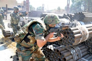 Sadad is under the Army's control again, and al-Qalamoun's insurgents under fire