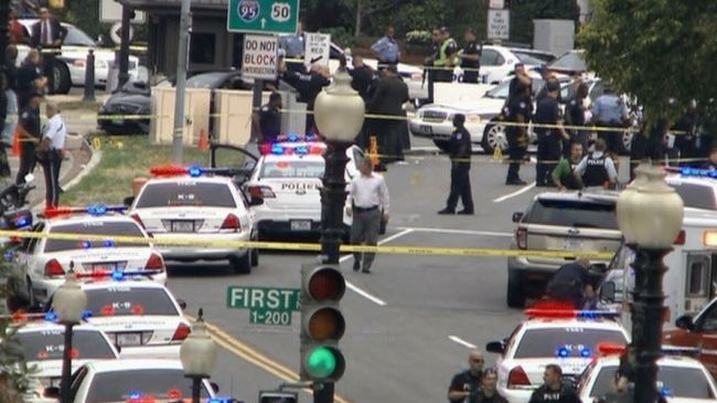 Shots fired outside US Capitol, 1 injured