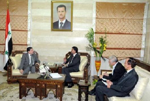 Syrian Prime Minister Al-Halqi