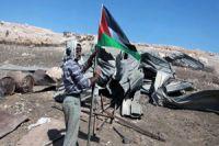 Zionist regime forces destroy Palestinian village