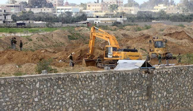 Egypt's military destroyed over 1,000 Gaza tunnels