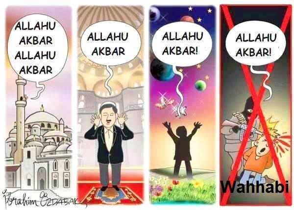 Caricature – Allahu Akbar