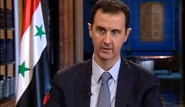 Assad says Syria facing major extremist offensive