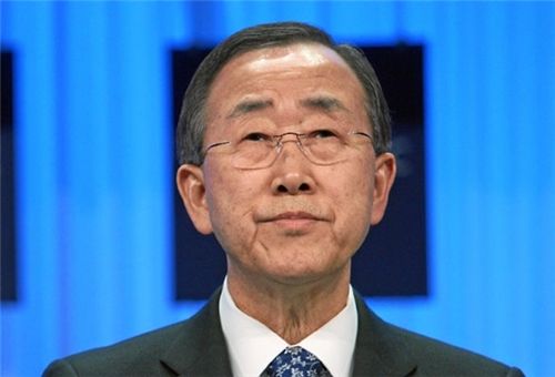 Ban-ki Moon Stresses Necessity for Iran's Participation in Geneva II Conference on Syria
