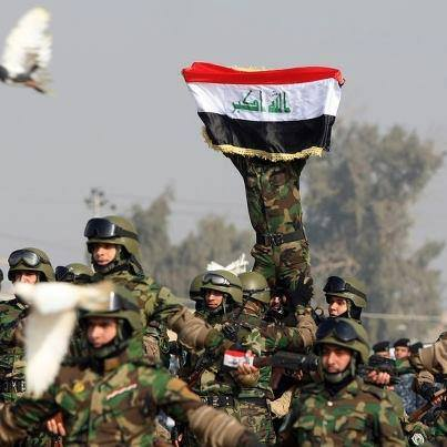 IRAQI ARMY CONTROLS BULK OF ANBAR DESERT