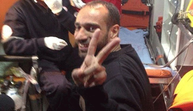 Iconic Palestinian hunger striker released