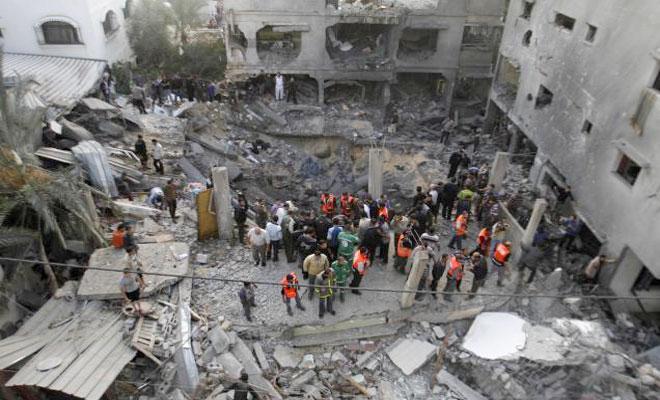 Israeli Army Launches Airstrikes on Gaza Strip