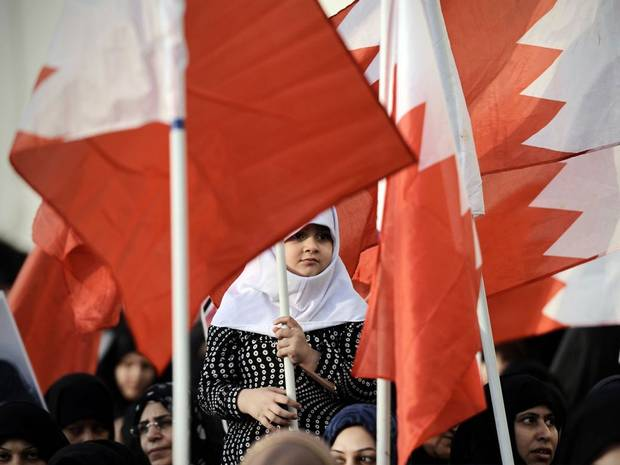 Protest_Bahrain_Flag