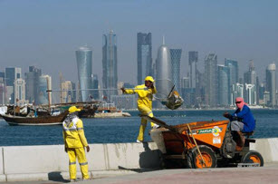 Qatar starves its foreign workers – Modern day slavery –