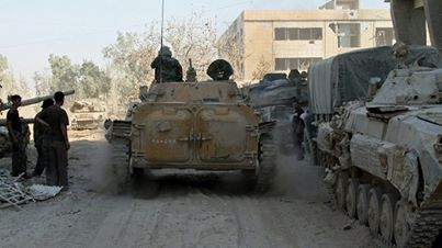 Syrian army advances in Aleppo