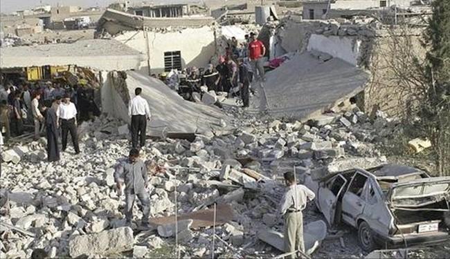 Bomb blast near Iraqi church kills 20, wounds dozens