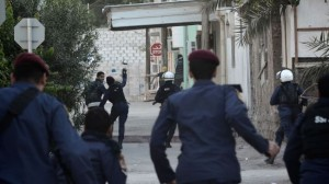 353315_Bahrain-police-protesters