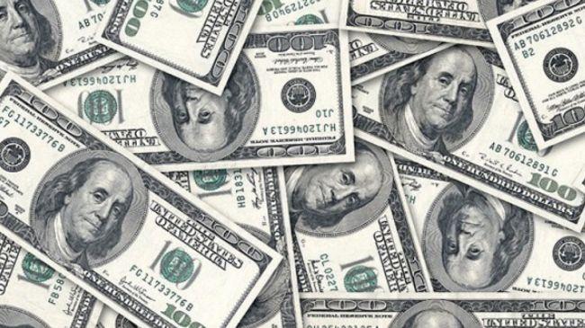 Доллар печать