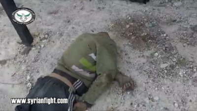 Jabhat al-Nusra executing alongside with the FSA several soldiers and behead two in Daraa3