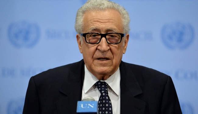 Syria paper accuses Brahimi of encouraging 'terror'