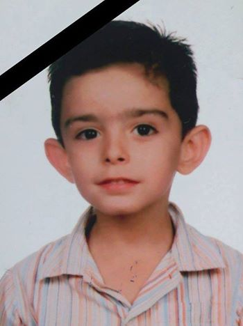 The photo of the child who was killed by terrorists mortar fire on ...jura boy