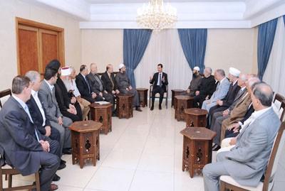 Assad_ dignitaries