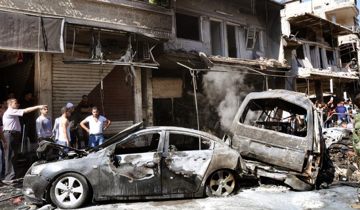 Blast in Damascus