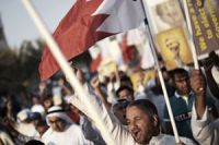 Bahrain police clash with protesters