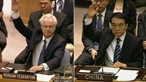 China, Russia Veto UN Attempt to Refer Syria to ICC