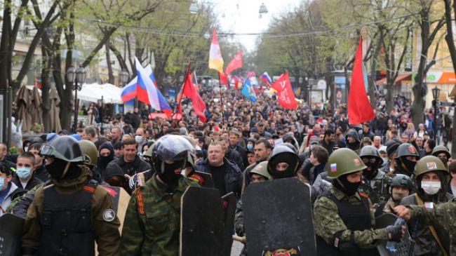Clashes in Ukraine's Odessa kill one person