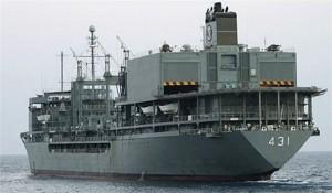 Commander  Iran's Fleet of Warships Arrives at Pakistan's Karachi Port